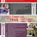 """În acest sfârșit de săptămână are loc de-a de-a XII-a ediție a """"Zilelor orașului Teiuș"""". Vezi programul"""