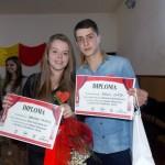 """Denisa Tamaş şi Raul Oniţa au câștigat titlurile de Miss și Mister la """"Balul Mărțișorului"""" organizat de Liceul Teoretic Teiuș"""