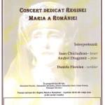 Concert dedicat Reginei Maria, la Casa de Cultură a oraşului Teiuş