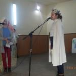Recitaluri şi cântece în memoria marelui poet național Mihai Eminescu la Liceul Teoretic Teiuș