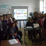 """Colaborare între Liceul Teoretic Teiuș și alte patru şcoli din Europa în cadrul proiectului """"Let's be friends"""""""