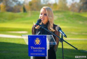 Theodora Popa, la inaugurarea clubul de golf care îi poartă numele: Investiția a însemnat un pariu că putem face ceva deosebit pentru țara noastră | teiusinfo.ro