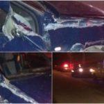 Două persoane rănite la Geoagiu de Sus, după ce au fost acroșate de un autoturism condus de un șofer cu alcoolemie