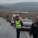 Accident pe DN1, la intrarea în Aiud dinspre Teiuș