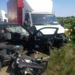 Un bărbat de 41 de ani din Stremț a decedat, în urma unui accident rutier produs pe DN 1, în apropiere de Teiuș
