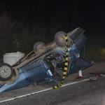 Accident rutier mortal la ieșire din Teiuș spre Aiud: Un decedat și două persoane încarcerate după o coliziune între un TIR și un autoturism
