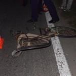 Un biciclist și-a pierdut viața după ce a fost lovit de o autoutilitară, la ieșirea din Teiuș înspre Alba Iulia