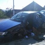 O persoană a fost rănită după o coliziune între un TIR și un autoturism petrecută la ieșirea din Teiuș