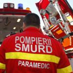 Bărbat de 68 de ani din Sântimbru accidentat de un autoturism care a părăsit partea carosabilă, pe DJ 107B