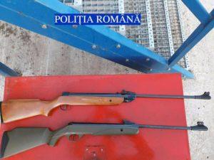 Bărbat de 45 de ani din Teiuș reținut de polițiști pentru deținere ilegală de arme și muniție