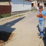 """Primarul Mirel Hălălai anunță că la Teiuș a început """"Marea Asfaltare"""""""