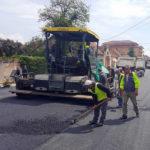 Două artere rutiere din Teiuş – Ştefan cel Mare şi Primăverii sunt modernizate