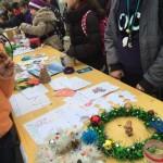 """Târg de cadouri confecționate de preșcolarii și elevii din Teiuș, în cadrul Campaniei """"Cozonacul de Crăciun"""""""