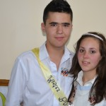 Tudor Hălălai şi Diana Bîrsan sunt câștigătorii din acest an ai Balului Bobocilor de la Liceul Teoretic Teiuş