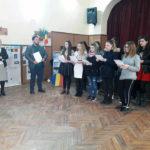 Centenarul unirii Basarabiei cu România sărbătorit de elevii Liceului Teoretic Teiuș