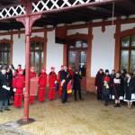 Martirul Unirii, stegarul Ioan Arion, comemorat în Gara Teiuş