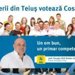 (P) Alegeri Locale 2016 – Tinerii din Teiuş votează Cosmin Giurgiu!