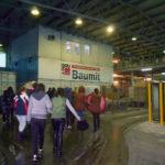 """Elevii Liceului Teoretic Teiuș au vizitat fabrica de materiale de construcție """"Baumit"""""""
