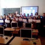 """Elevii Liceului Teoretic Teiuș au învățat primii pași în materie de programare, în cadrul evenimentului mondial """"Hour of code"""""""