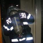 Un scurtcircuit produs la un frigider a provocat un incendiu la o bucătărie din Teiuș
