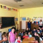 Jandarmii albaiulieni în vizită la Școala Gimnazială din localitatea Stremț