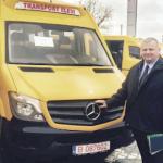 Un vis împlinit, microbuzul şcolar pentru elevii din Teiuş