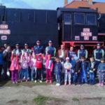 Activitate educativă organizată de Serviciul Judeţean de Poliţie Transporturi Alba pentru copiii din Teiuș