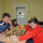 La Clublul membrilor CAR Credit Teiuș a avut loc astăzi un concurs de șah