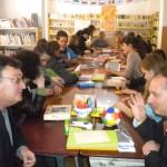 """Elevii Liceului Teoretic Teiuş i-au avut ca oaspeți pe elevii Liceului Tehnologic Special """"Sumus"""" din Cluj-Napoca"""