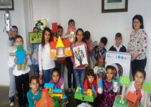 """Activități educative pentru elevii Școlii Primare din Căpud, în cadrul proiectului național """"Let`s Be ECO!"""""""