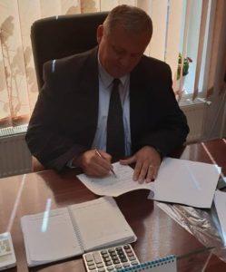 """Mirel Hălălai, primar Teiuș: """"Astăzi am semnat contractul cu societatea care a câștigat licitația de construcție a podului peste râul Mureș"""""""
