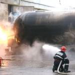 Mâine 28 martie, va avea loc la Teiuș un exercițiu de simulare a stingerii unui incendiu propagat la un rezervor de carburanţi