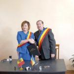 Încă un pas spre adevărata şi aşteptata Unire! Comuna Stremţ s-a înfrăţit cu localitatea Vişniovca, din Republica Moldova