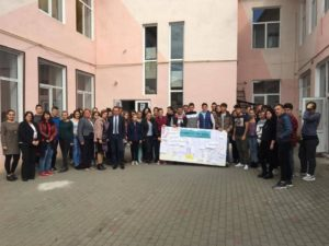 Ieri, 5 octombrie 2017, profesorii și elevii de la Liceul Teoretic Teiuș au sărbătorit Ziua Internațională a Educației