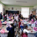 """Mărțișoare, baloane și bomboane pentru viitorii școlari cu prilejul """"Zilei Porților Deschise – 2019"""", organizată la Liceul Teoretic Teiuș"""
