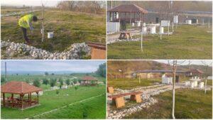 Primăria Teiuș a amenajat o zonă de picnic, pe malul râului Mureș, pentru locuiitorii orașului